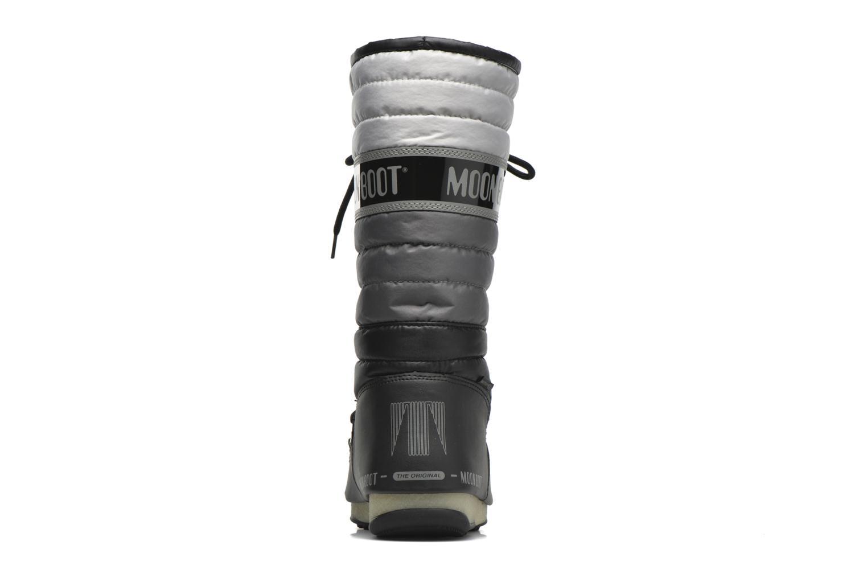 Bottines et boots Moon Boot Quilted Noir vue droite