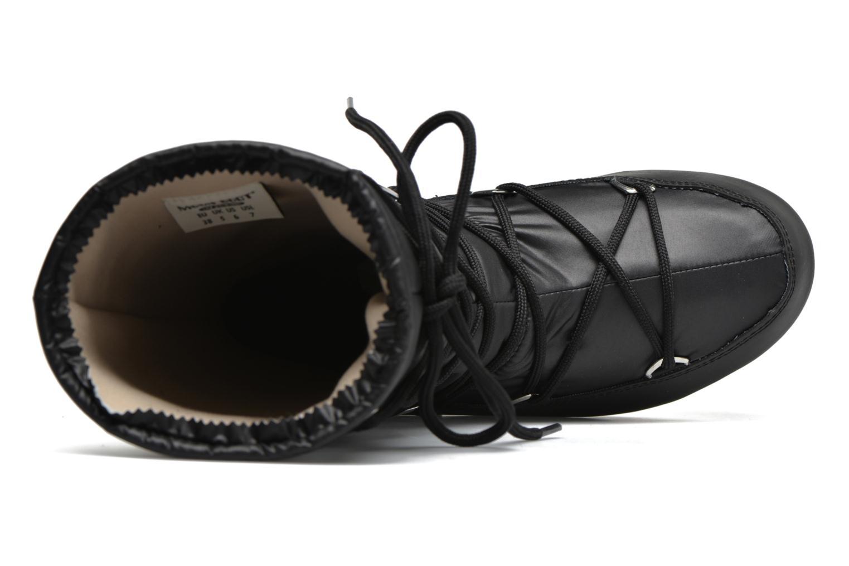 Botines  Moon Boot Quilted Negro vista lateral izquierda