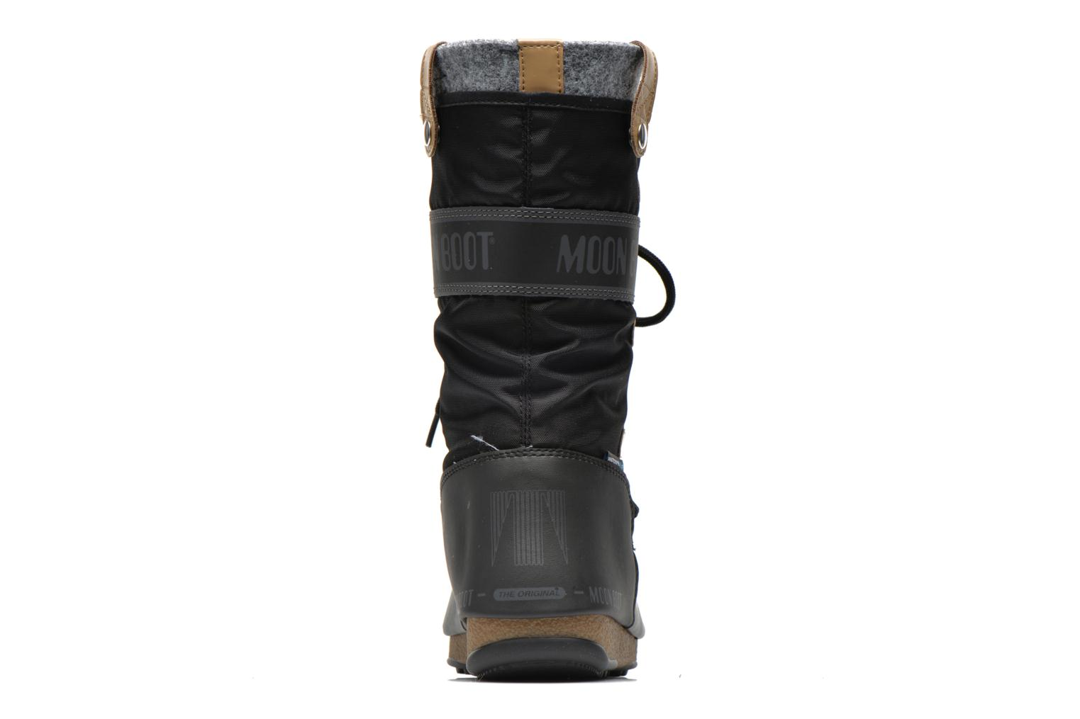 Ankle boots Moon Boot We Monaco Felt Black view from the right