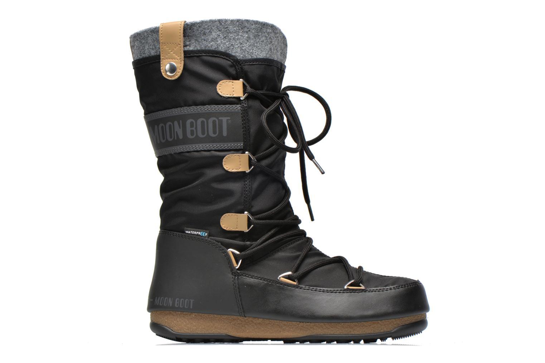 Ankle boots Moon Boot We Monaco Felt Black back view