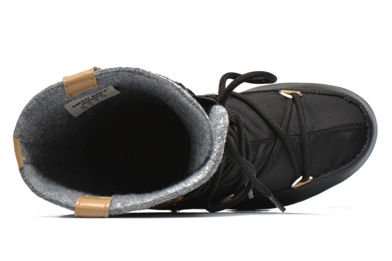 Stiefeletten & Boots Moon Boot Monaco Felt schwarz ansicht von links