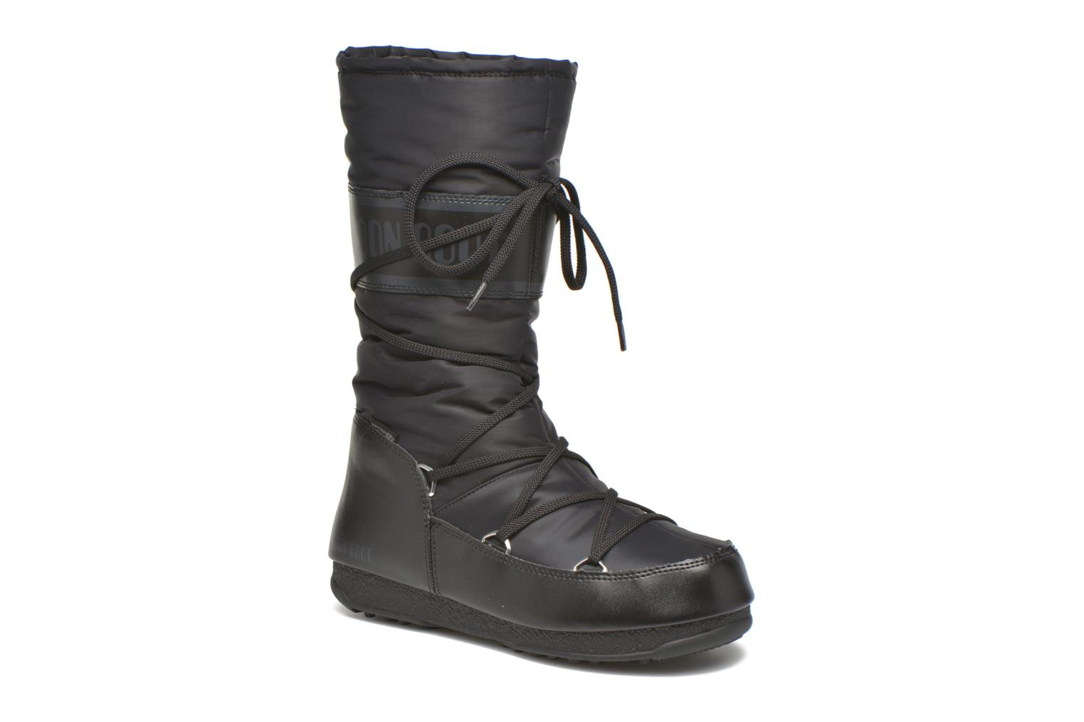 Sport shoes Moon Boot Soft Shade Black detailed view/ Pair view