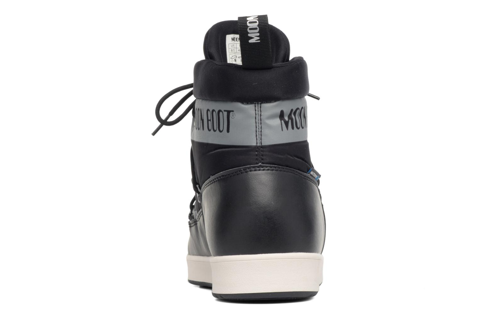 Sport shoes Moon Boot Neil Black view from the right