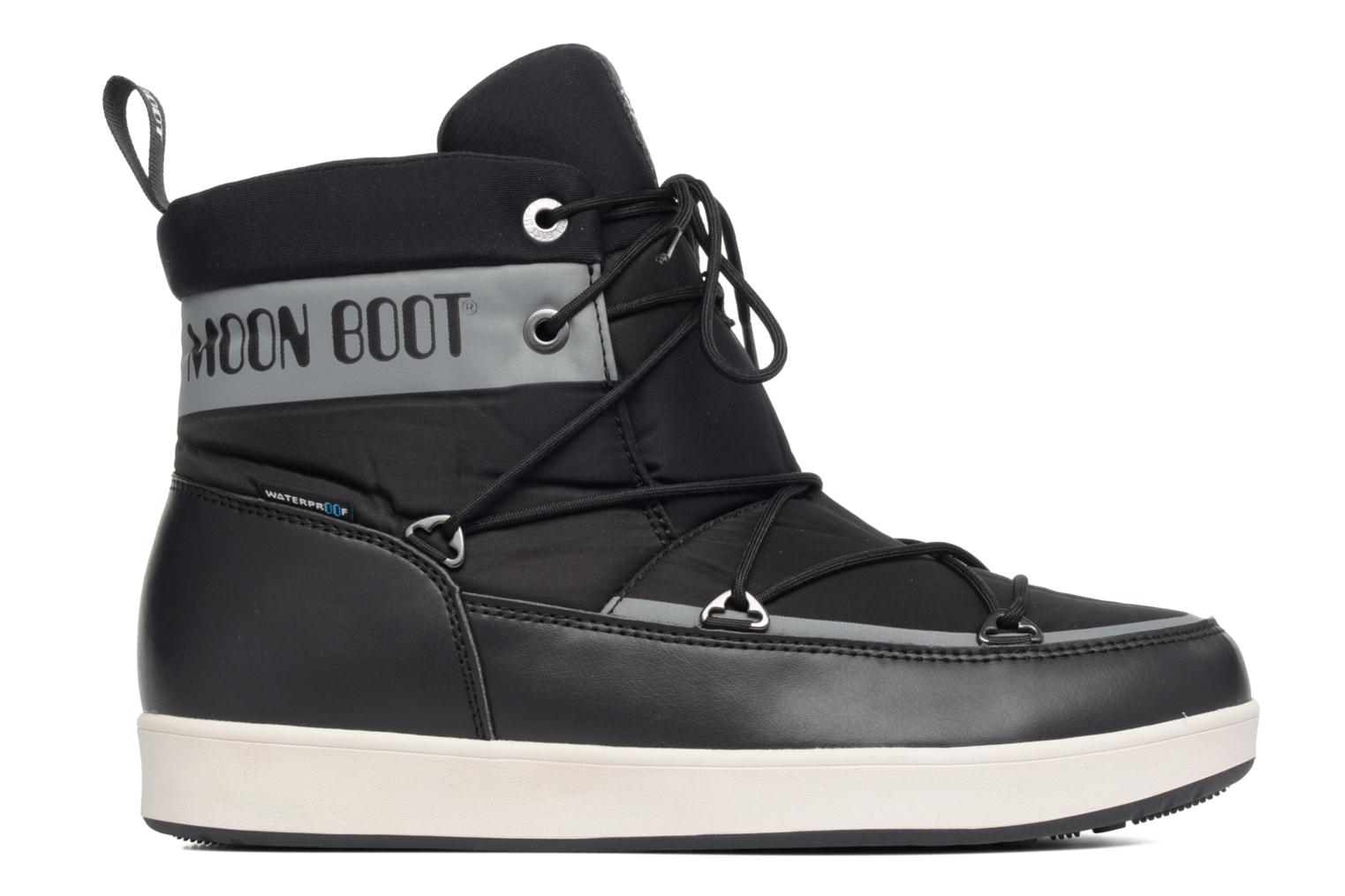 Sport shoes Moon Boot Neil Black back view