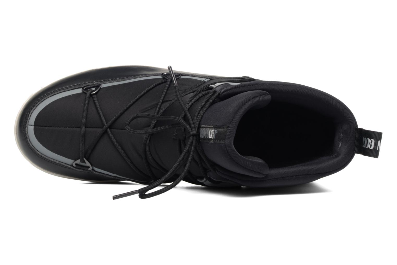 Zapatillas de deporte Moon Boot Neil Negro vista lateral izquierda
