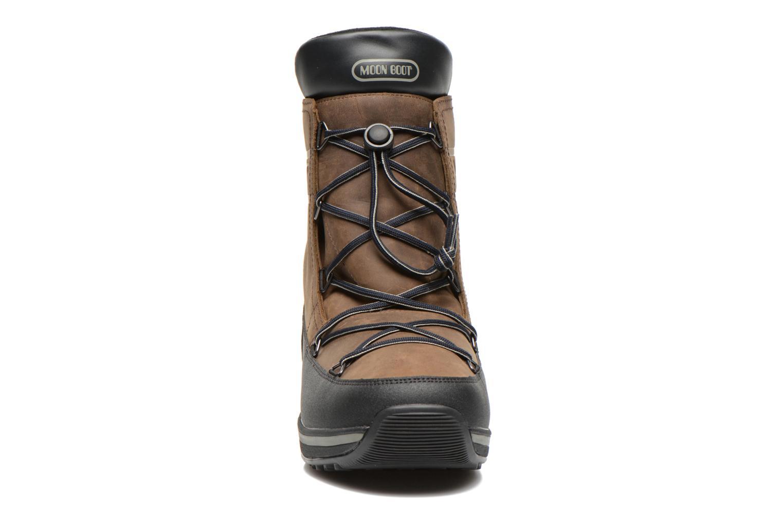Chaussures de sport Moon Boot Lem Lea Marron vue portées chaussures