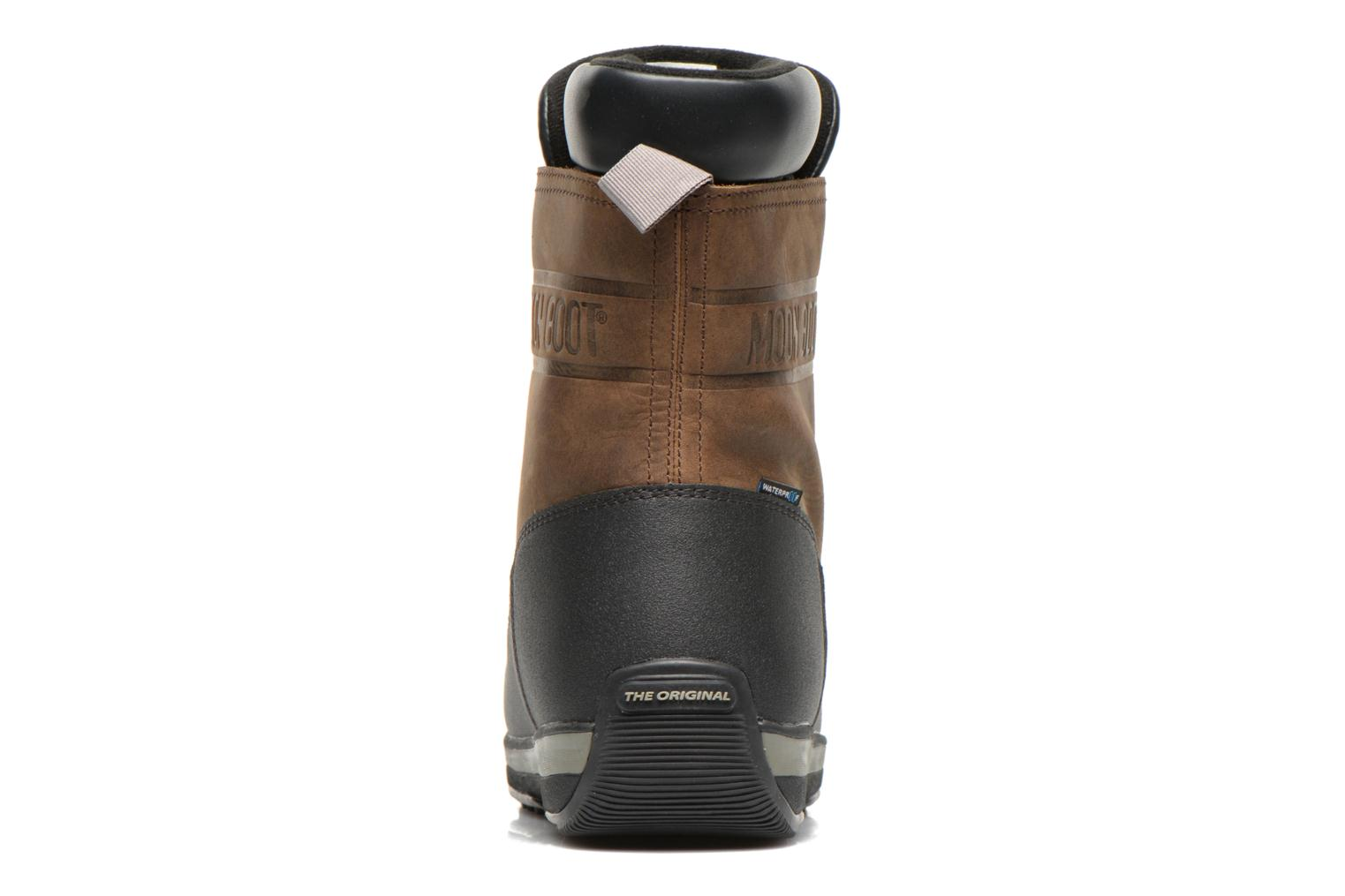 Sport shoes Moon Boot Lem Lea Brown view from the right