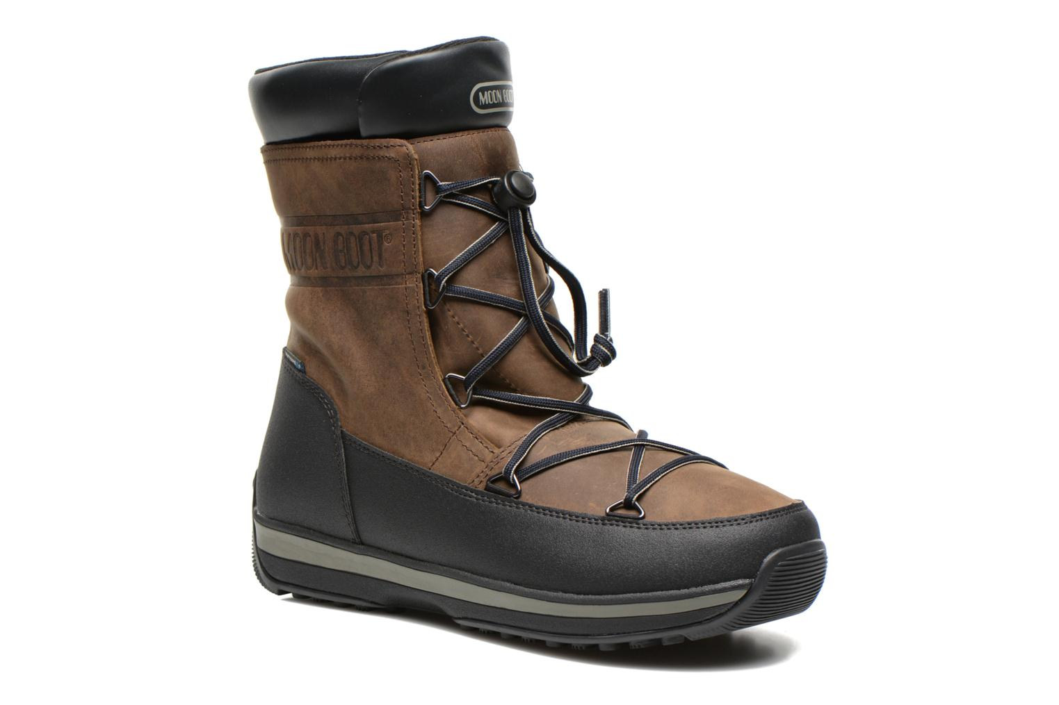 Sport shoes Moon Boot Lem Lea Brown detailed view/ Pair view
