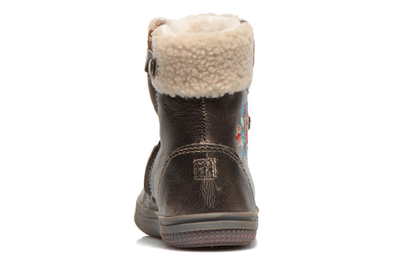 Bottines et boots Noël Mini Muscat Ch Or et bronze vue droite
