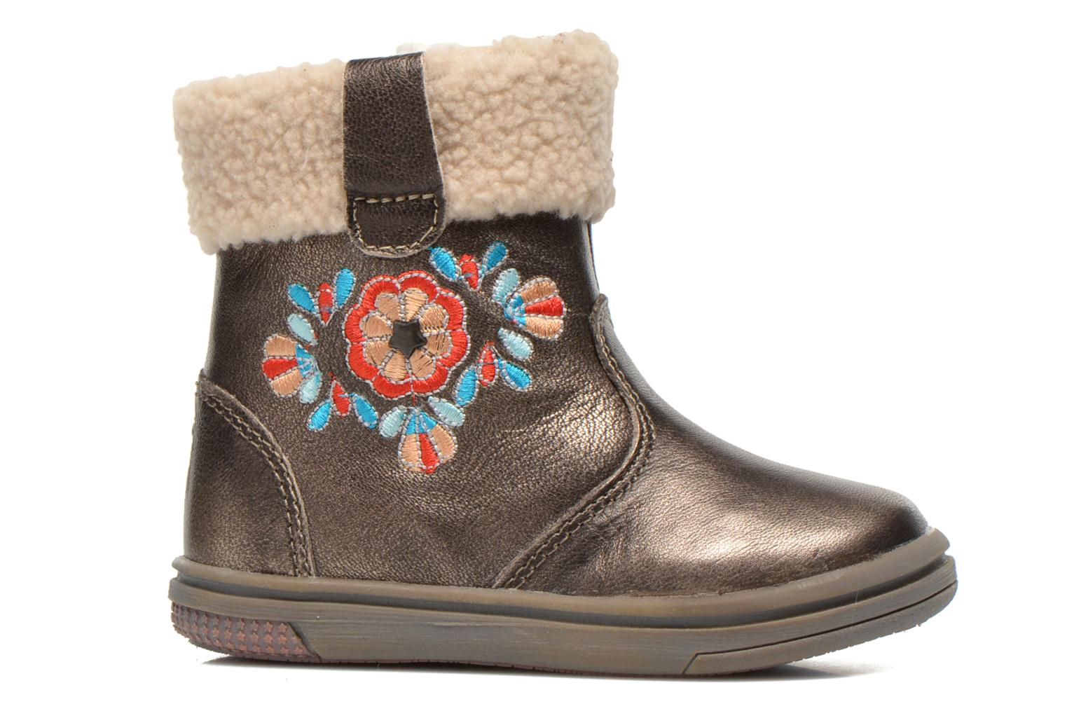 Ankle boots Noël Mini Muscat Ch Bronze and Gold back view