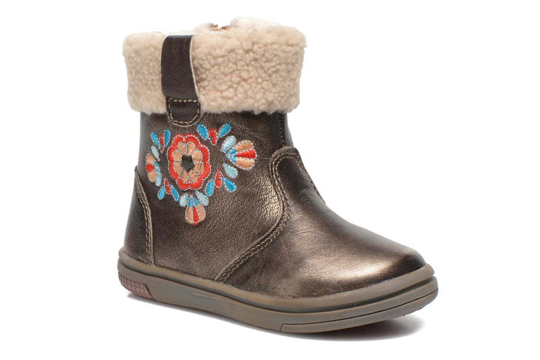 Bottines et boots Noël Mini Muscat Ch Or et bronze vue détail/paire