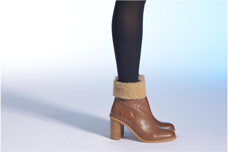 Stiefeletten & Boots Made by SARENZA Chantilly Chérie #9 braun ansicht von unten / tasche getragen