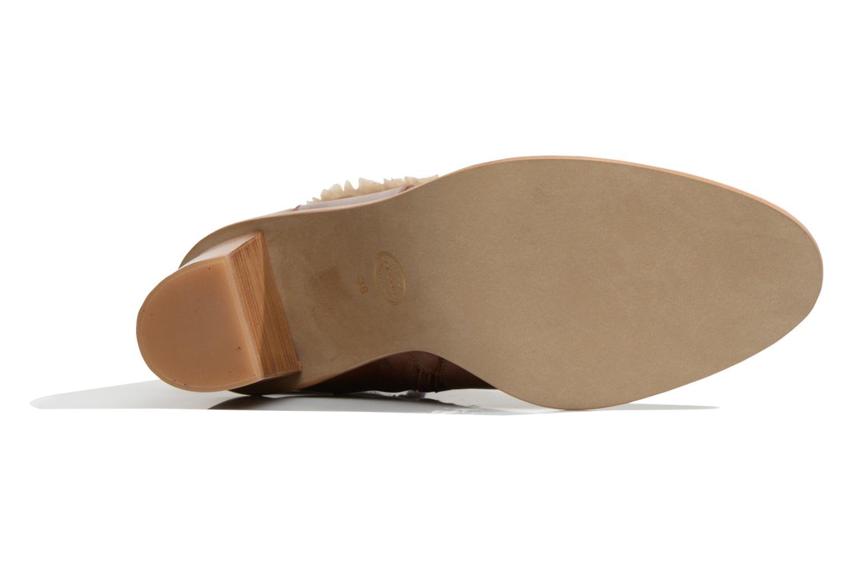 Stiefeletten & Boots Made by SARENZA Chantilly Chérie #9 braun ansicht von oben