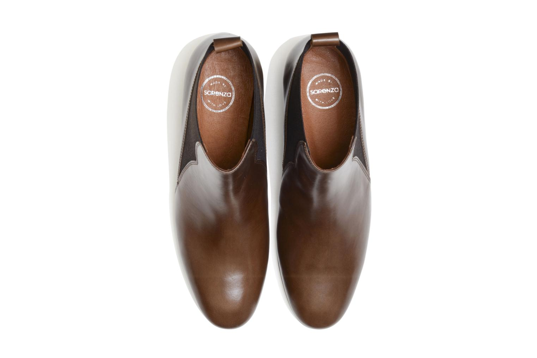 Bottines et boots Made by SARENZA Smoking Simone #7 Marron vue portées chaussures