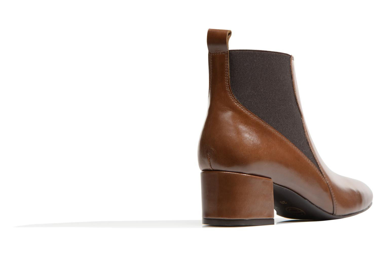 Bottines et boots Made by SARENZA Smoking Simone #7 Marron vue face