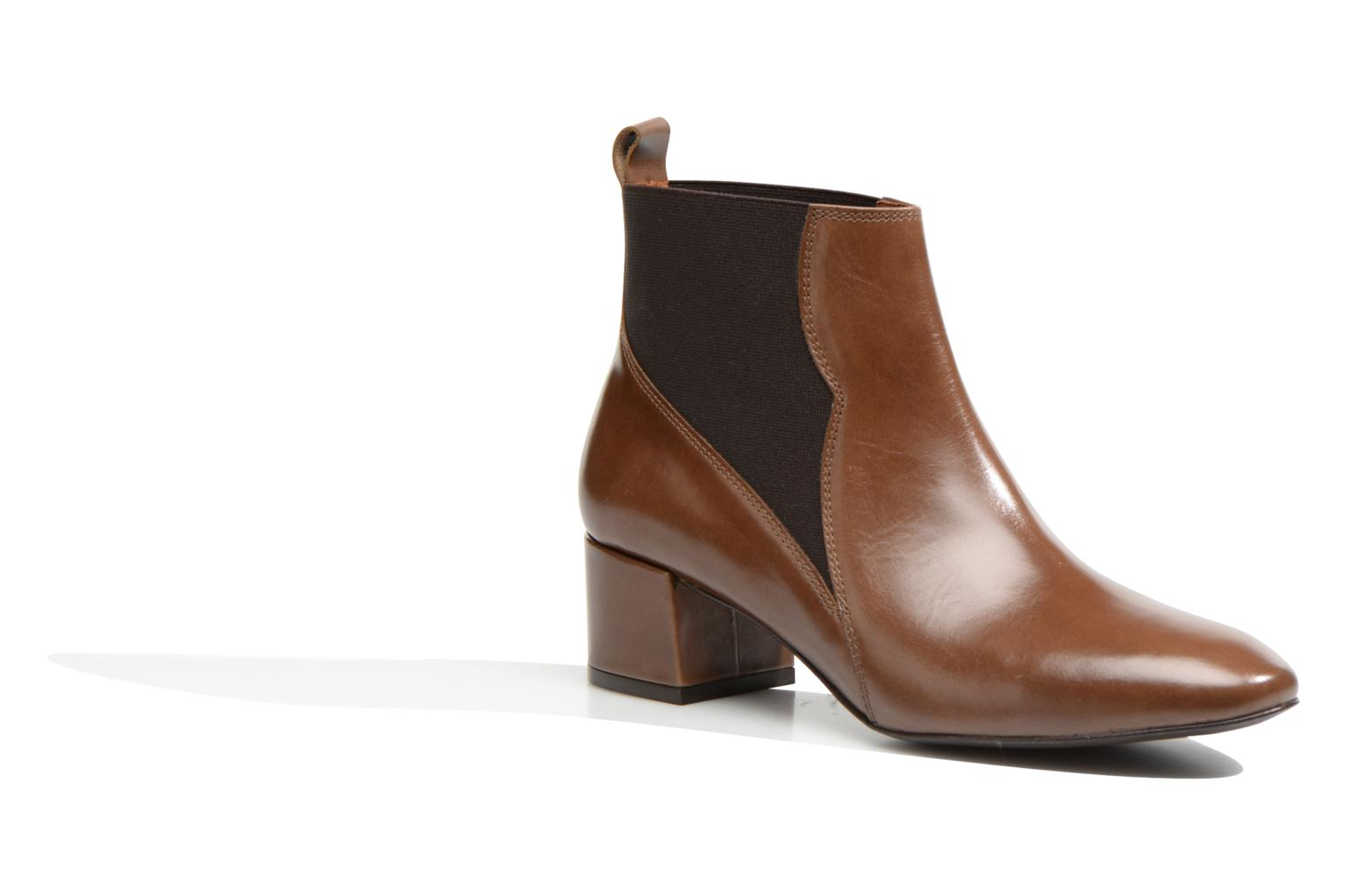 Ankle boots Made by SARENZA Smoking Simone #7 Brown view from the right
