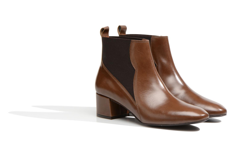 Bottines et boots Made by SARENZA Smoking Simone #7 Marron vue derrière