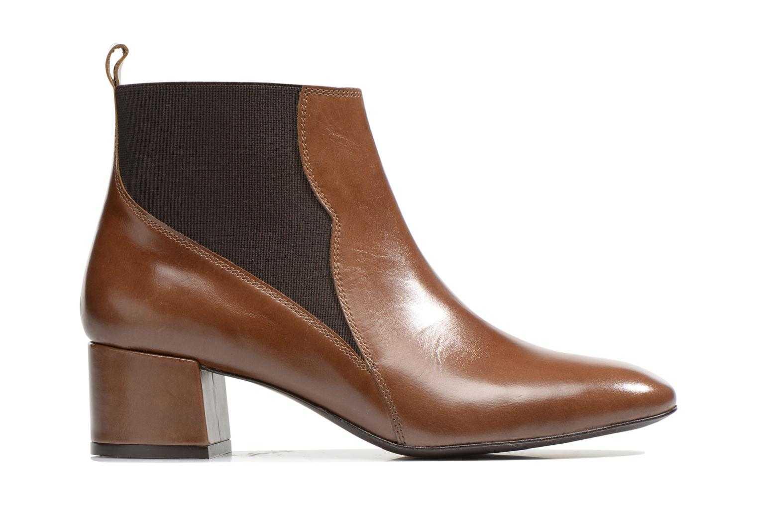 Ankle boots Made by SARENZA Smoking Simone #7 Brown detailed view/ Pair view