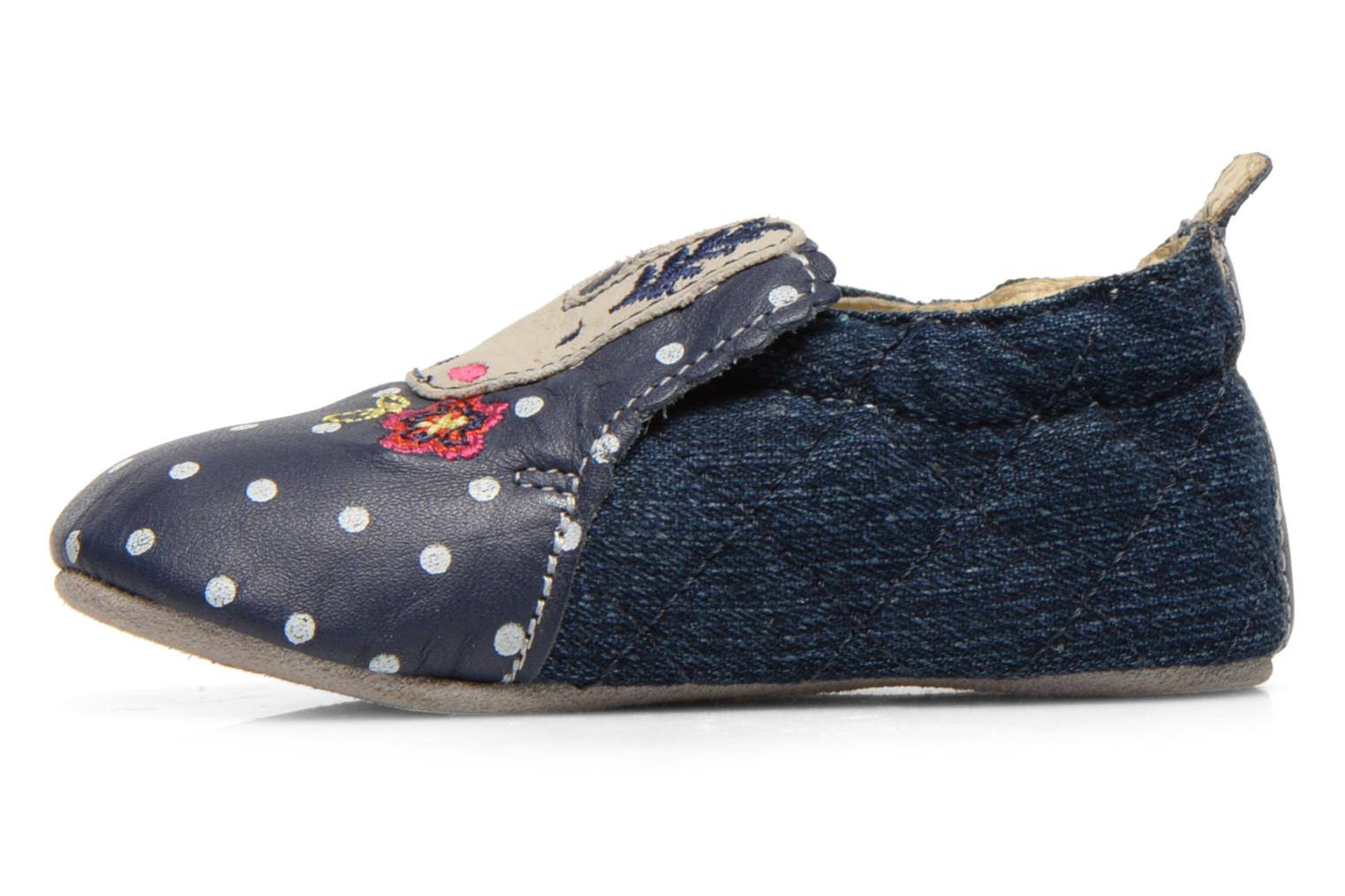 Slippers Catimini Coudou Blue front view
