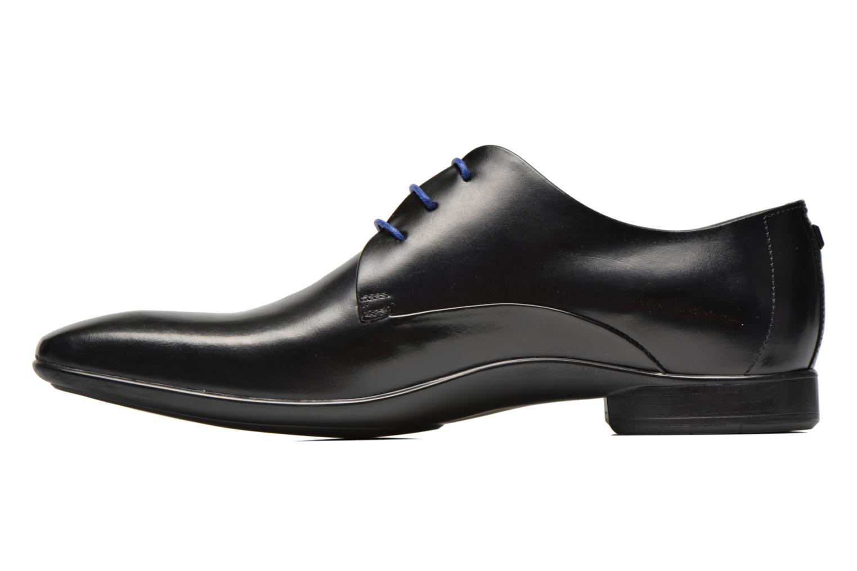 Zapatos con cordones Azzaro Outin Negro vista de frente