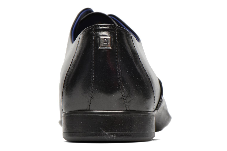Zapatos con cordones Azzaro Outin Negro vista lateral derecha