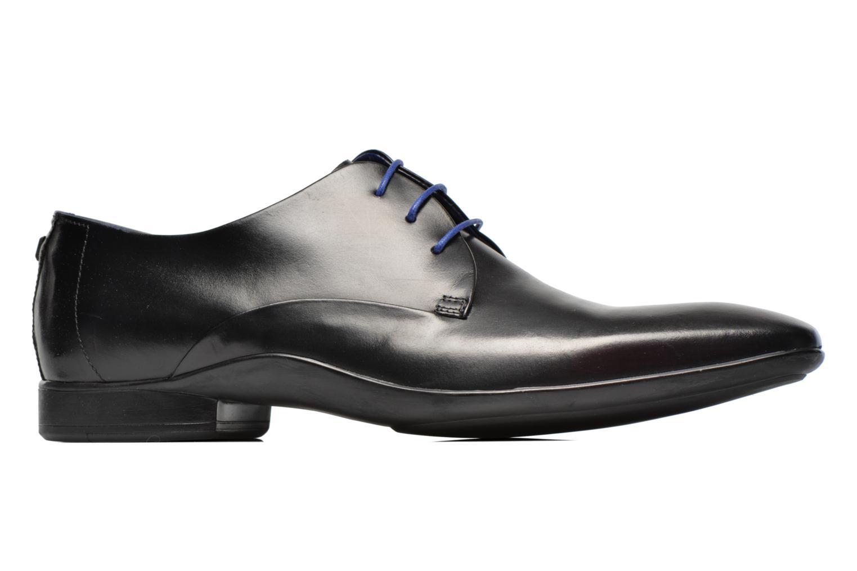 Zapatos con cordones Azzaro Outin Negro vistra trasera