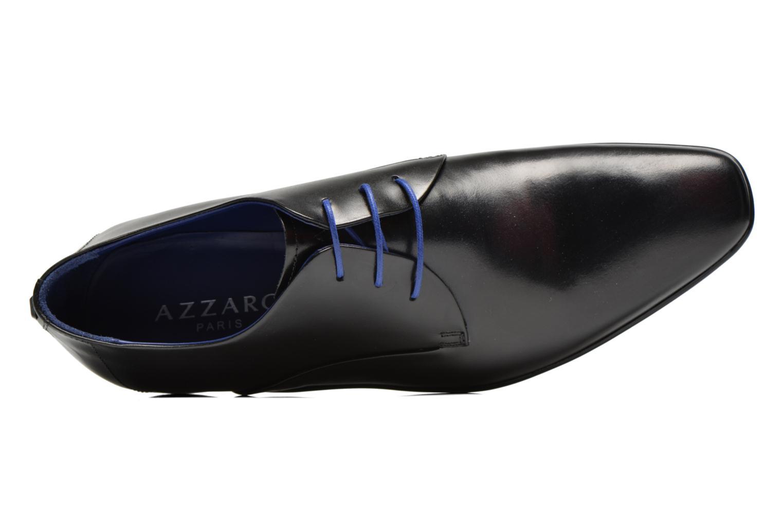 Zapatos con cordones Azzaro Outin Negro vista lateral izquierda