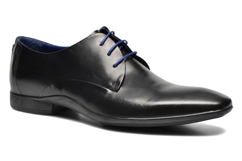 Zapatos con cordones Azzaro Outin Negro vista de detalle / par
