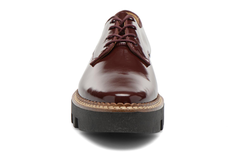 Chaussures à lacets Aldo CLAYBOURNE Bordeaux vue portées chaussures