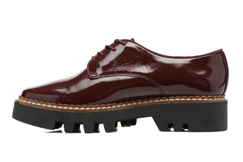 Chaussures à lacets Aldo CLAYBOURNE Bordeaux vue face