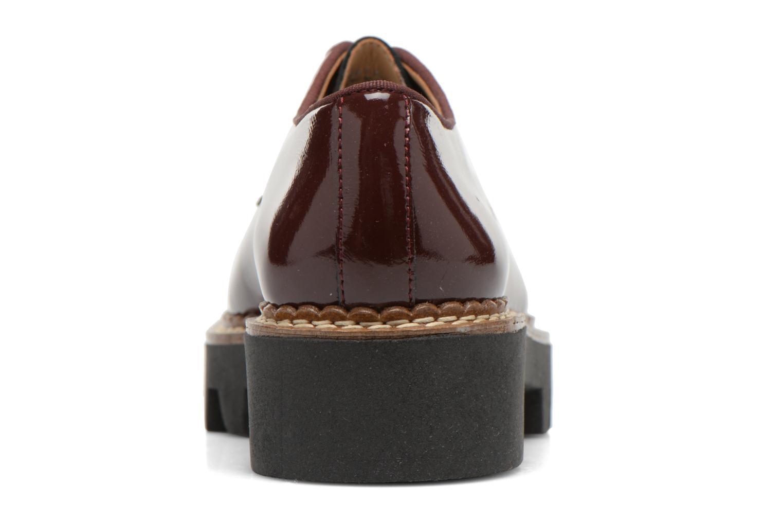 Chaussures à lacets Aldo CLAYBOURNE Bordeaux vue droite