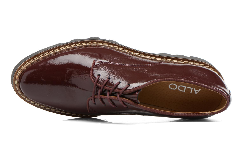 Chaussures à lacets Aldo CLAYBOURNE Bordeaux vue gauche