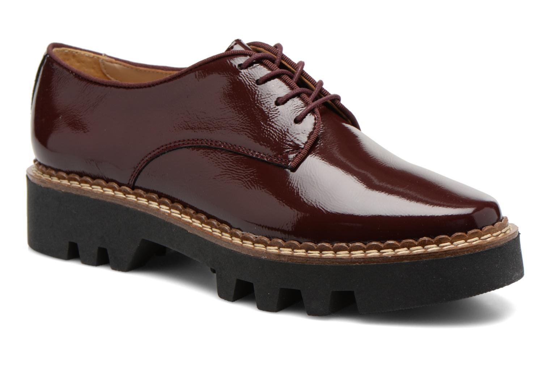 Chaussures à lacets Aldo CLAYBOURNE Bordeaux vue détail/paire
