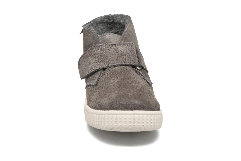 Schoenen met klitteband Victoria Safari Serraje Velcro Grijs model
