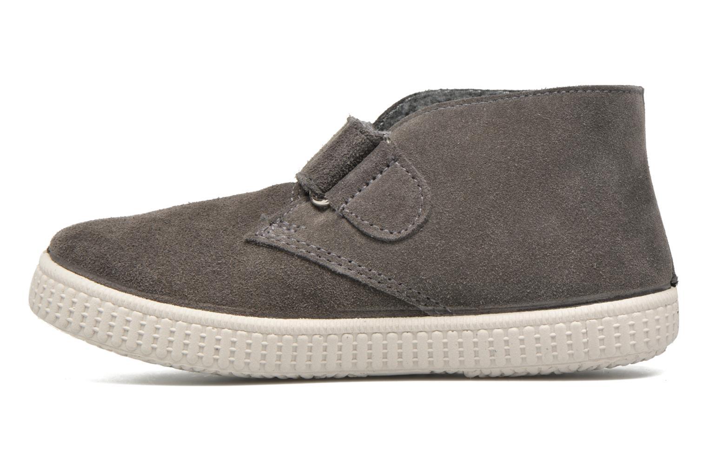 Schoenen met klitteband Victoria Safari Serraje Velcro Grijs voorkant