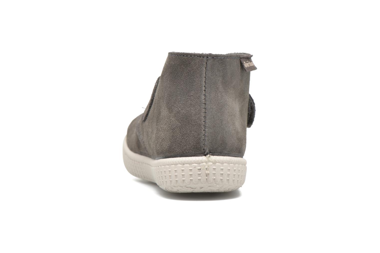 Schoenen met klitteband Victoria Safari Serraje Velcro Grijs rechts