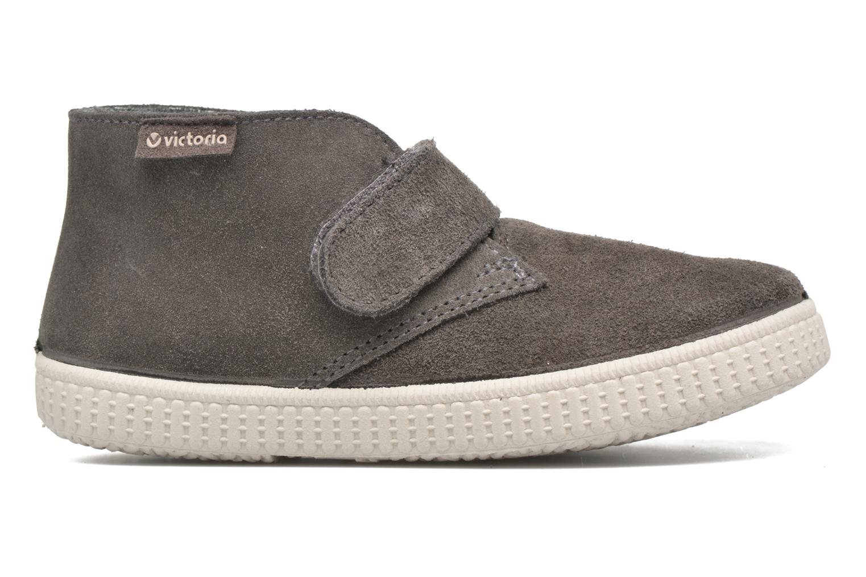 Schoenen met klitteband Victoria Safari Serraje Velcro Grijs achterkant