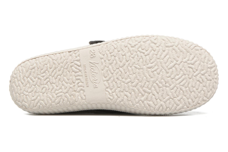 Schoenen met klitteband Victoria Safari Serraje Velcro Grijs boven