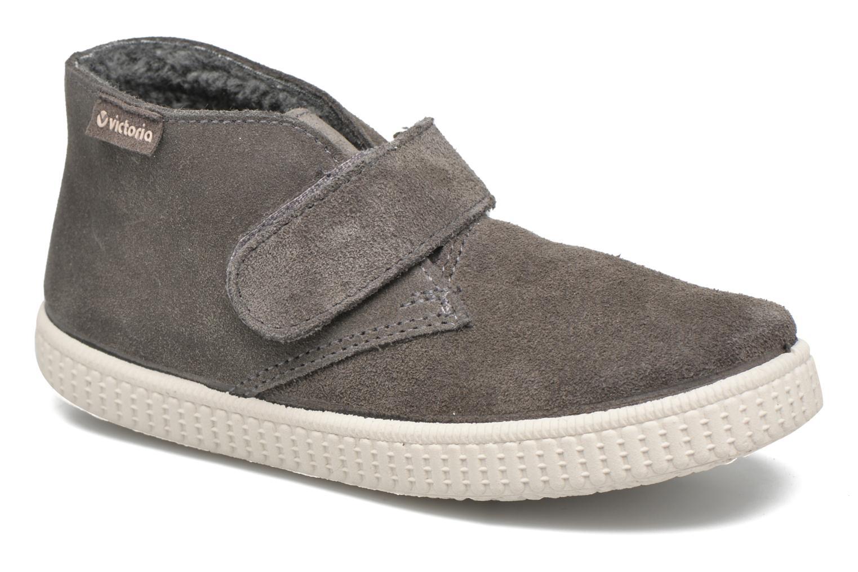 Schoenen met klitteband Victoria Safari Serraje Velcro Grijs detail