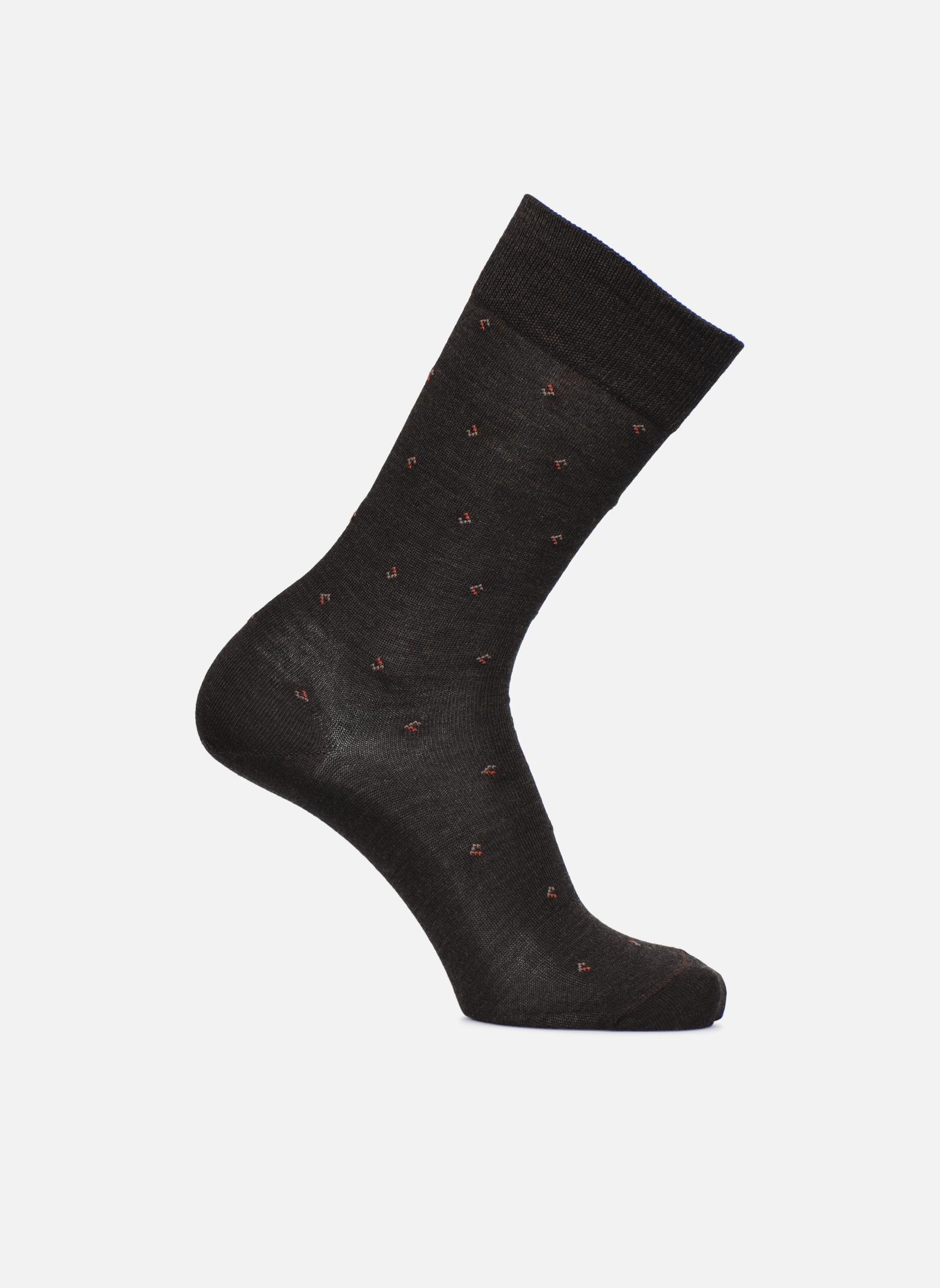 Socken Losanges Brun