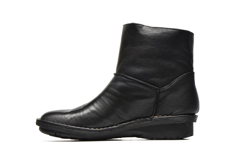Bottines et boots Khrio Siber Noir vue face