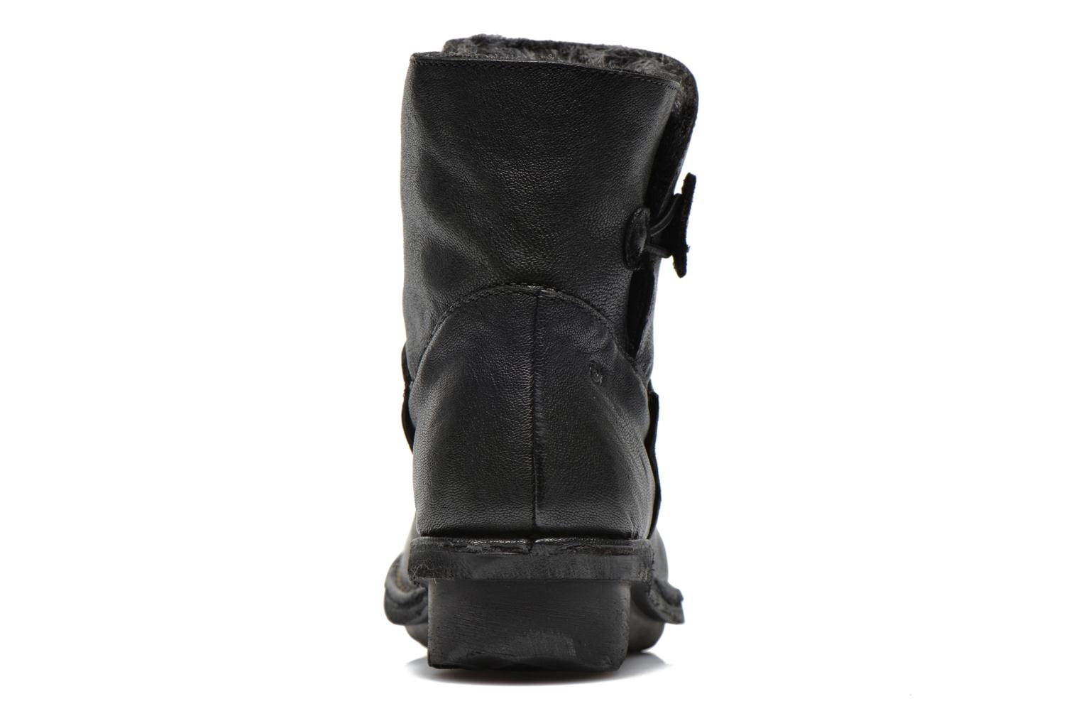 Ankle boots Khrio Siber Black view from the right