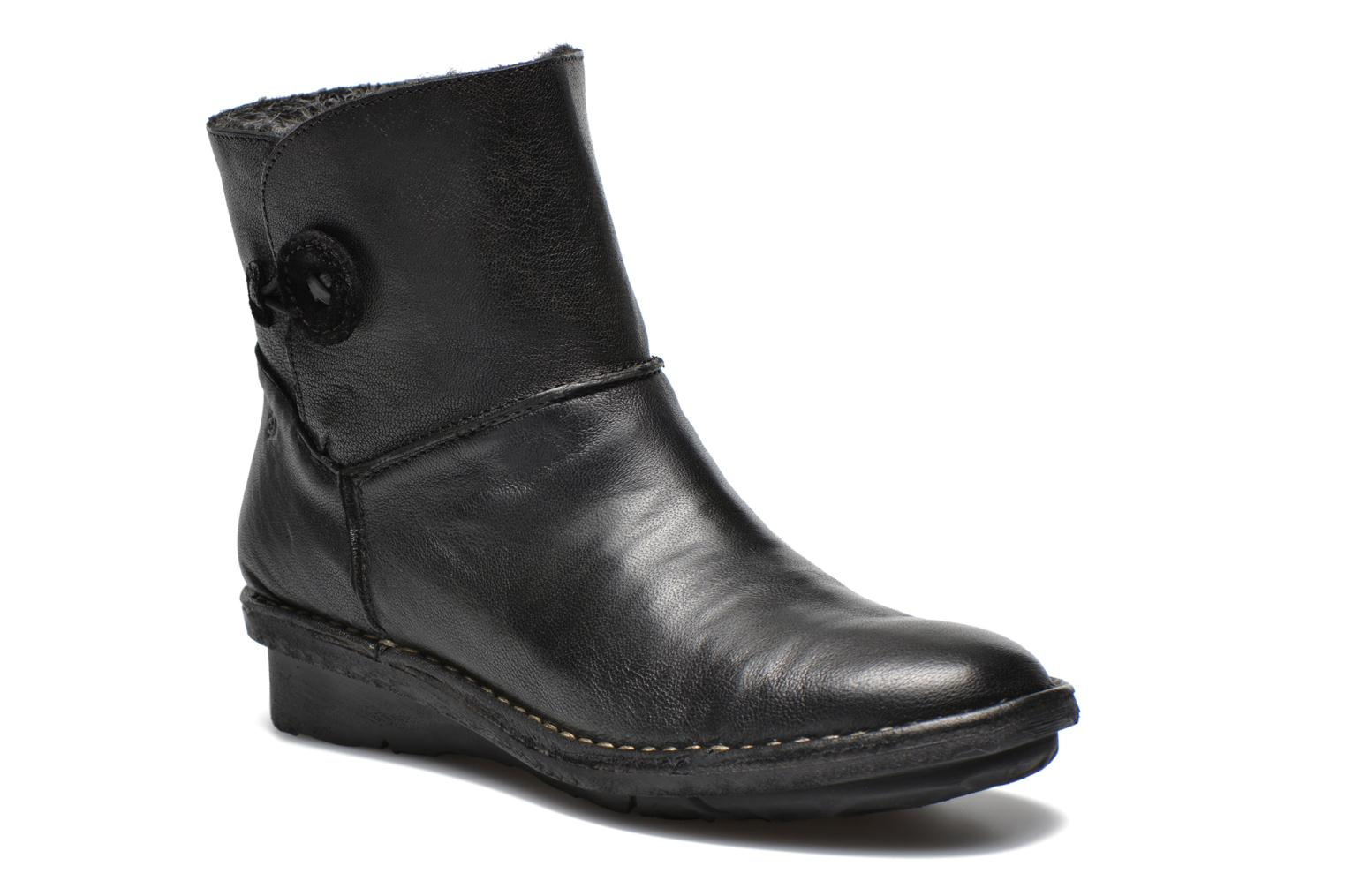 Ankle boots Khrio Siber Black detailed view/ Pair view
