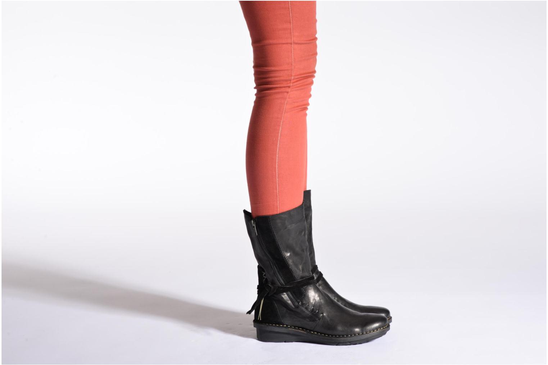 Stiefeletten & Boots Khrio Dibor schwarz ansicht von unten / tasche getragen