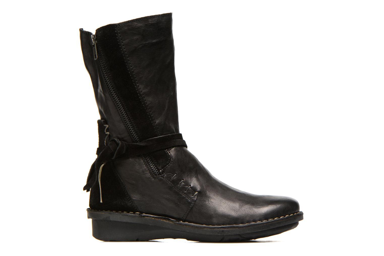 Boots en enkellaarsjes Khrio Dibor Zwart achterkant
