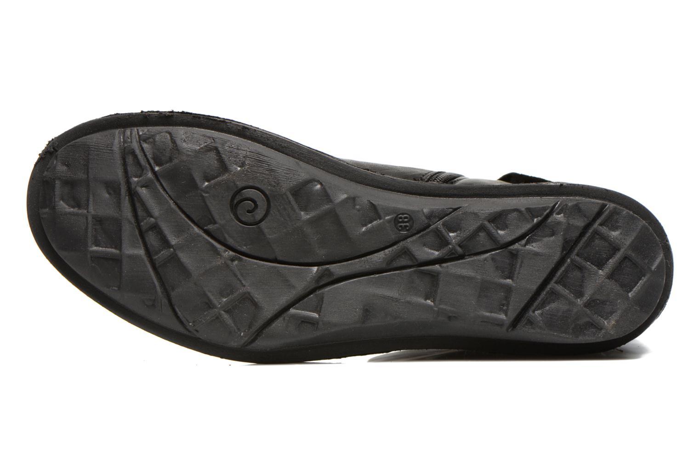 Stiefeletten & Boots Khrio Dibor schwarz ansicht von oben
