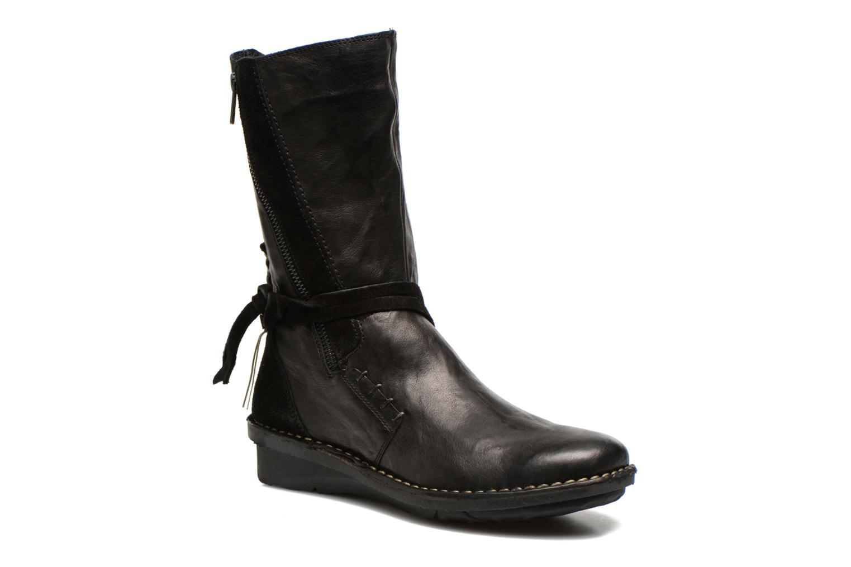Boots en enkellaarsjes Khrio Dibor Zwart detail