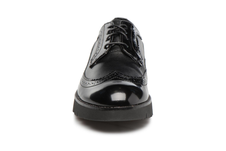 Schnürschuhe Geox D BLENDA C D540BC schwarz schuhe getragen