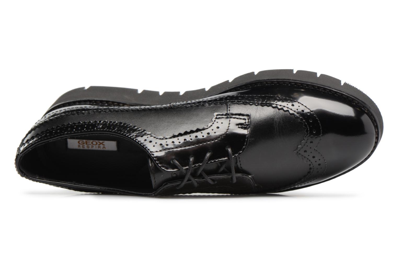 Chaussures à lacets Geox D BLENDA C D540BC Noir vue gauche