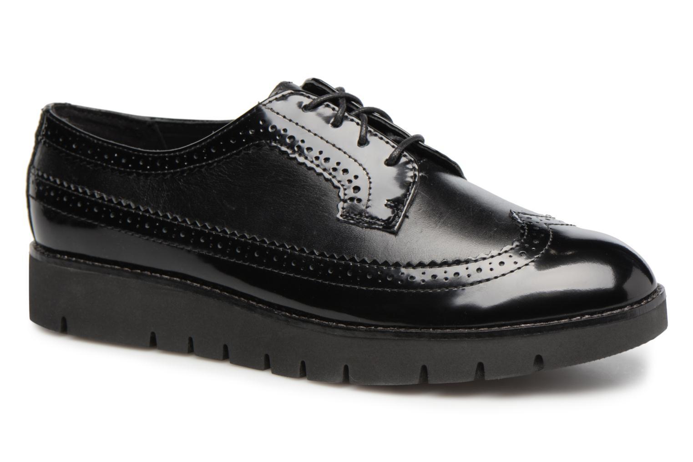 Chaussures à lacets Geox D BLENDA C D540BC Noir vue détail/paire